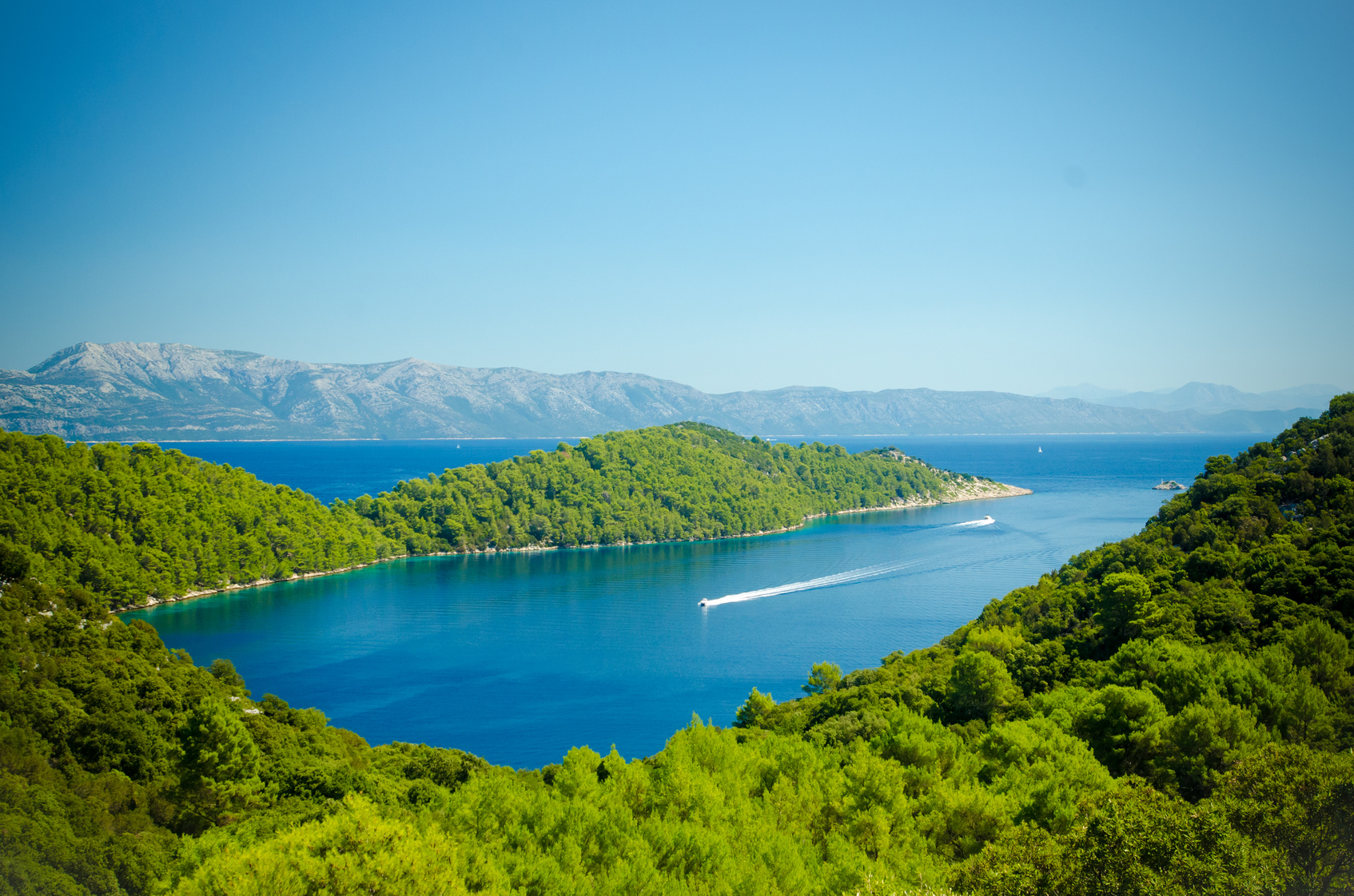 Yachting Kroatien-Nationalpark Mljet